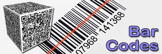 Chris R Green - Your-IT-Consultant - Putting IT together - SERVICES - Bar Codes