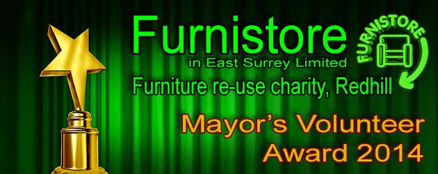 Mayors Team Volunteer Award 2014 - Furnistore