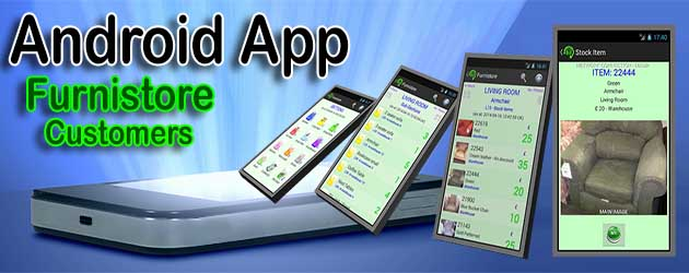 Android App - Furnistore - Customers