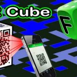3D Cube QR Barcode FREE online – World's first!