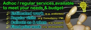 Your-IT-Consultant - Adhoc / regular services available to suit your needs & budget