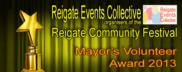 Mayors Award 2013 – Reigate Community Festival